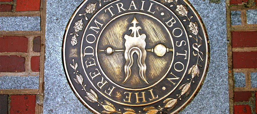 Walk the Freedom Trail on your cruise to Boston