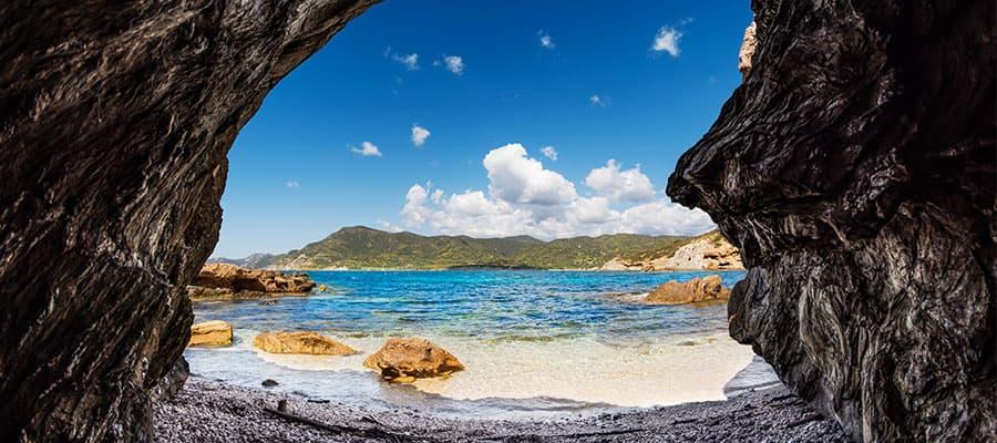 Beautiful beaches around every corner on your Europe cruise