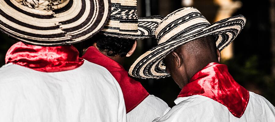Colombian Dancers on a South America cruise