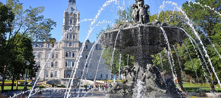 Architectural wonders on your cruise to Quebec