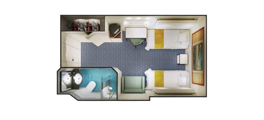 Floor plan Inside
