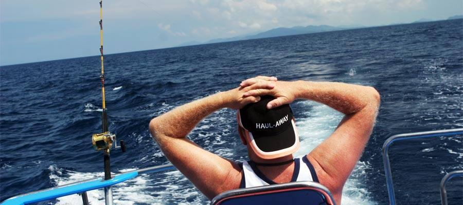 Deep sea fishing on your cruise
