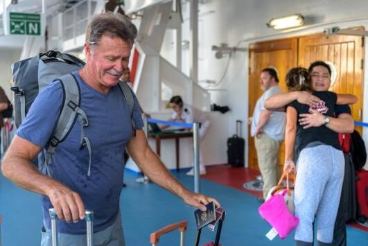 Norwegian Sky Hurricane Irma Rescue Mission