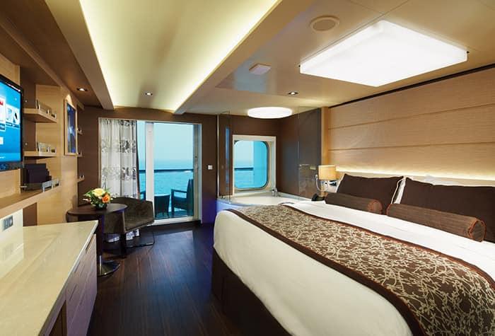 Largest Suites at Sea