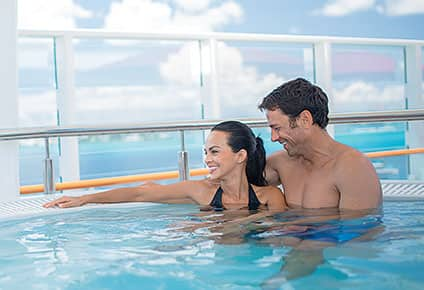 Best spa experience aboard a cruise ship