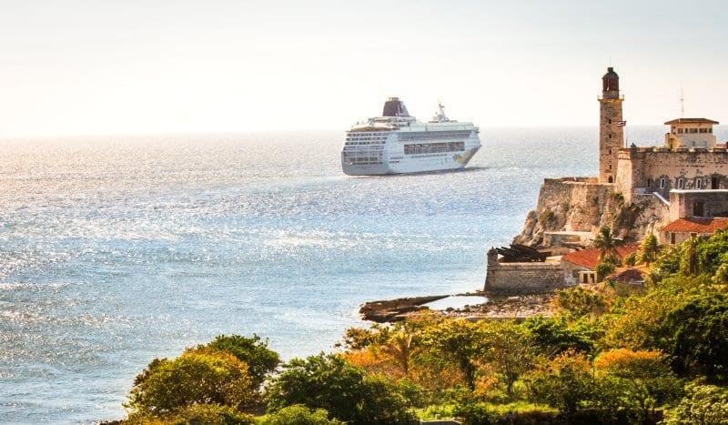 Norwegian Sky in Cuba