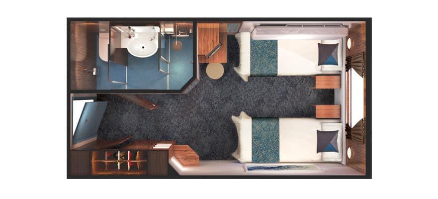 Floor plan Family Oceanview