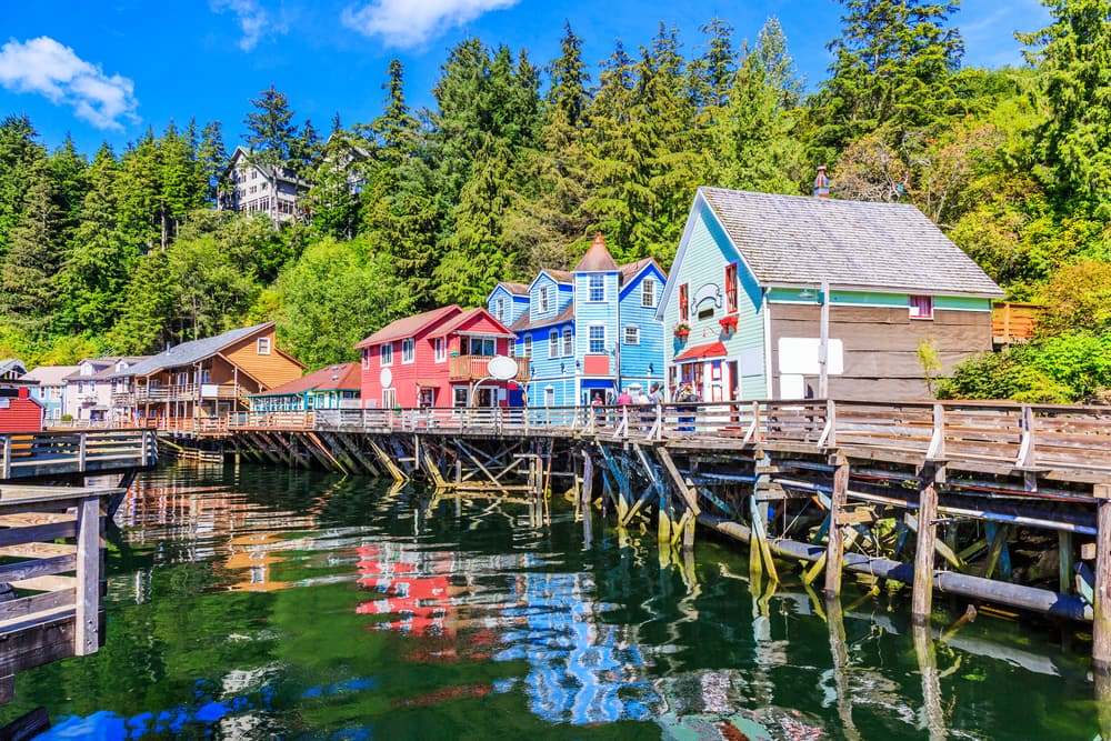Cruise to Colorful Ketchikan, Alaska with Norwegian
