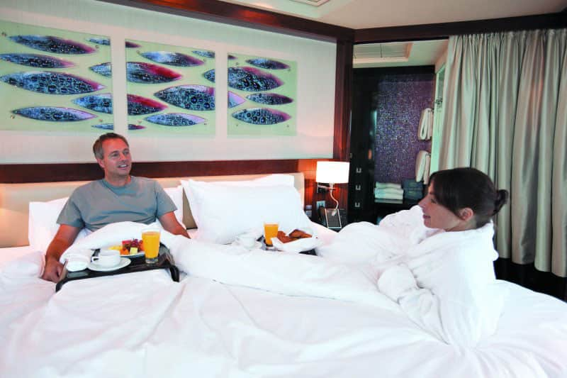 Norwegian Epic - Breakfast in Bed