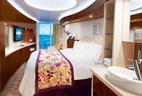 Cabine spa avec balcon - Détails
