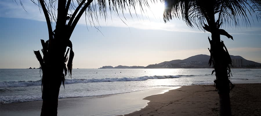 Magnifiques plages lors d'une croisière sur la Riviera mexicaine