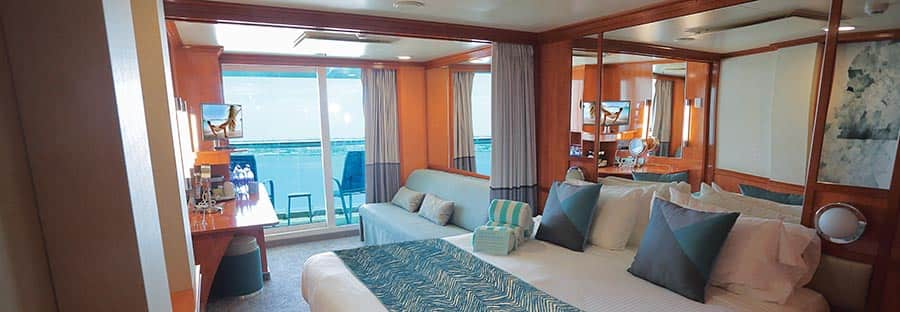 Cabine mini-suite sur le Norwegian Gem