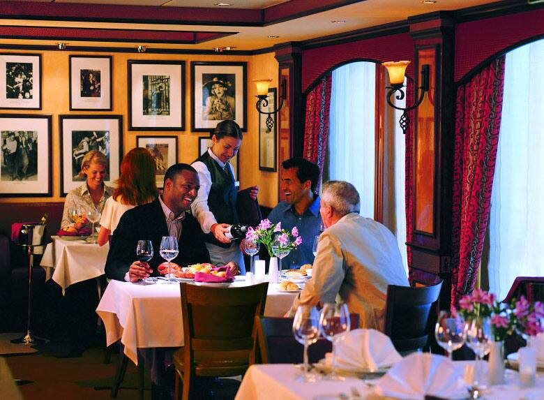 Cagney's Steakhouse on Norwegian Cruise Line Ships