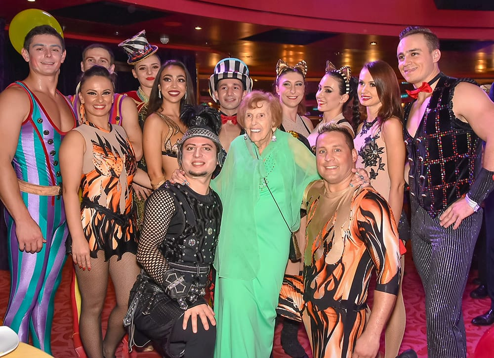 Cruise Guest Rose Zelman Celebrates 100th Birthday on Norwegian Epic