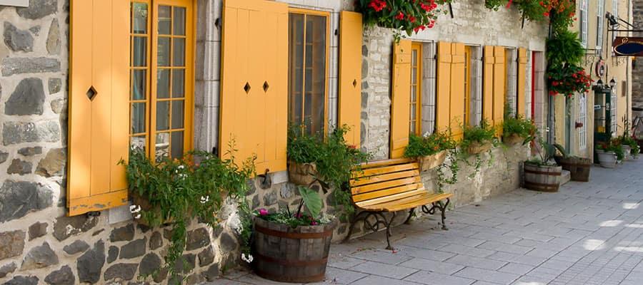 Visit Quebec on our Canada Cruises