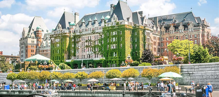 Picturesque Victoria on your Pacific Coastal cruise