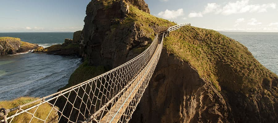 Carrick a Rede Rope Bridge in Belfast, Ireland