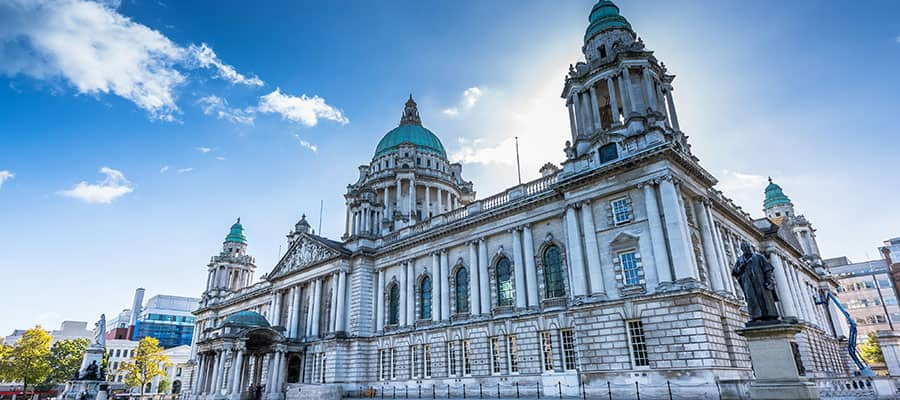City Hall in Belfast, Ireland