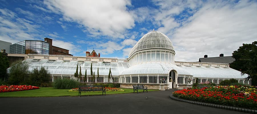Botanic Gardens on your Belfast cruise