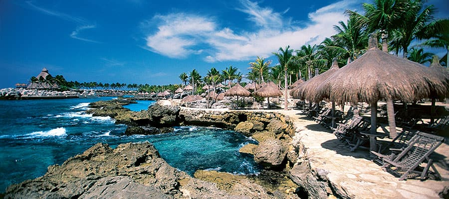 Xcaret Lagoon on your Caribbean cruise