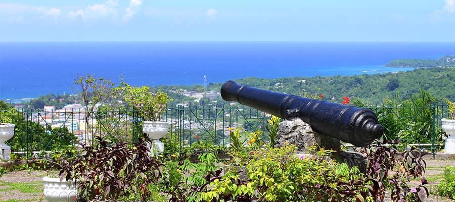 Shaw Park Botanical Gardens in Ocho Rios, Jamaica