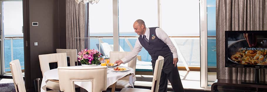 Butler Available 24-hours throughout your entire stay
