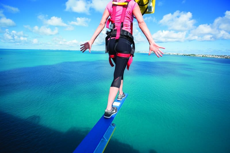 Walk The Plank on Norwegian Cruise Line Ships