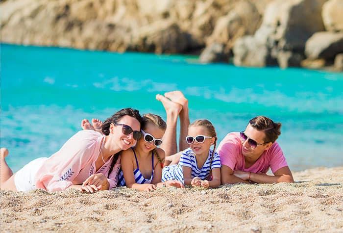 Splendide spiagge in Grecia