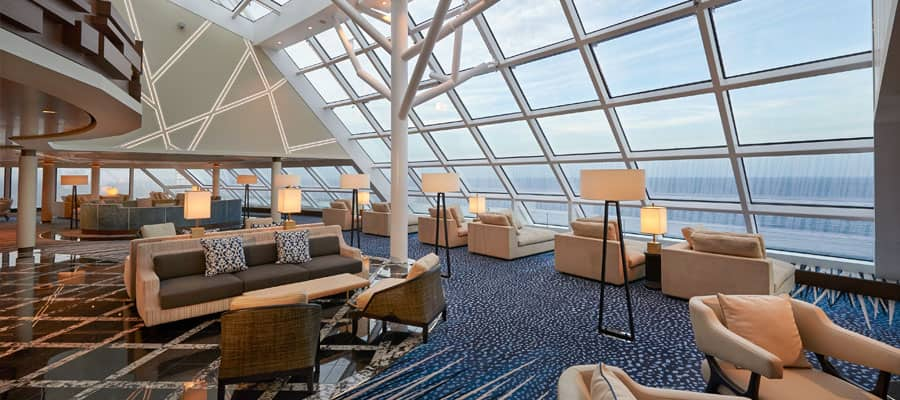 Lounge panoramica nel The Haven