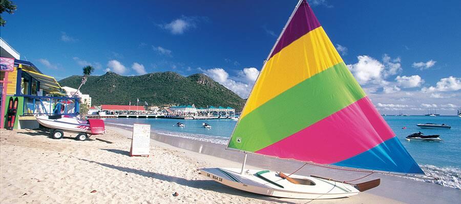 Fai una crociera in catamarano nei Caraibi
