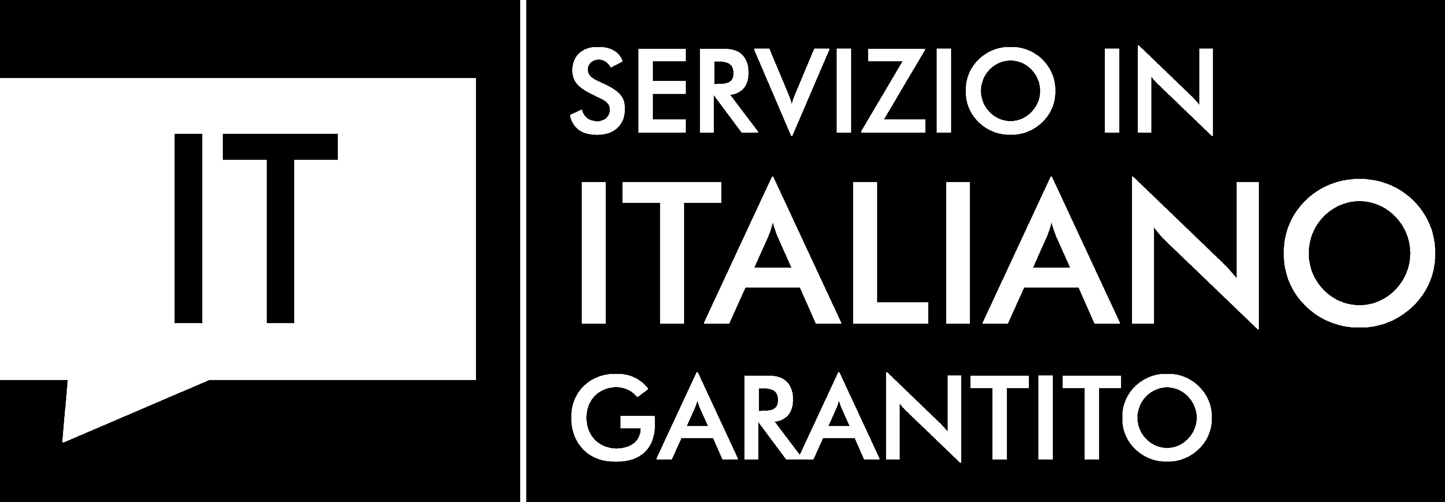 Logo lingua di servizio