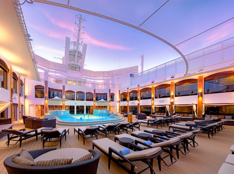 Norwegian Epic Haven Courtyard