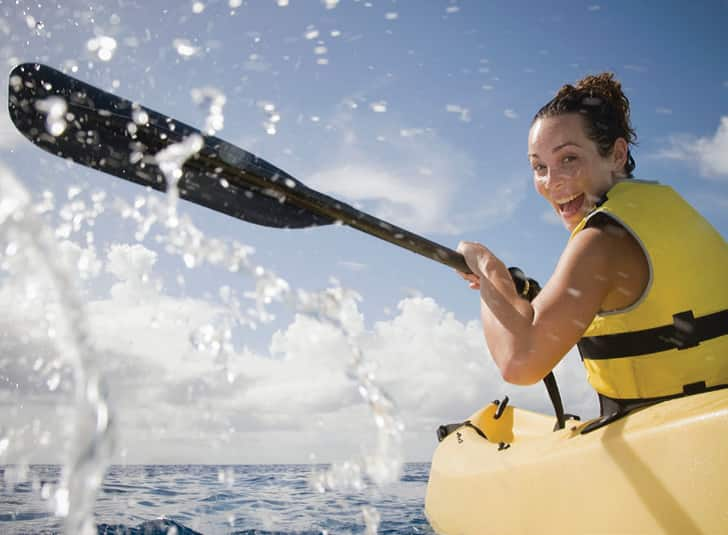 Paddle Your Way on a Kayak