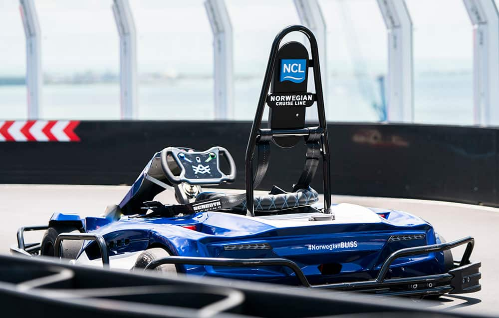 Avorza Go-Kart on Norwegian Bliss Race Track