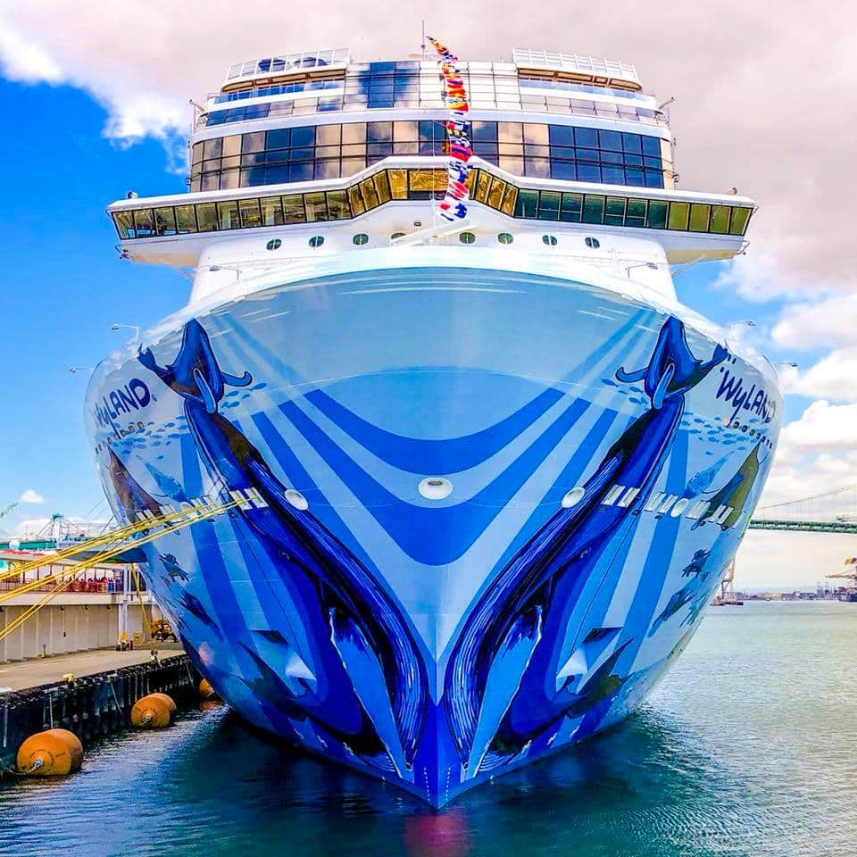 Norwegian Bliss Los Angeles Debut