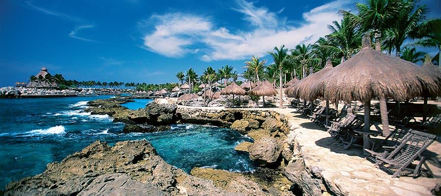 カリブ海クルーズのシクレラグーン