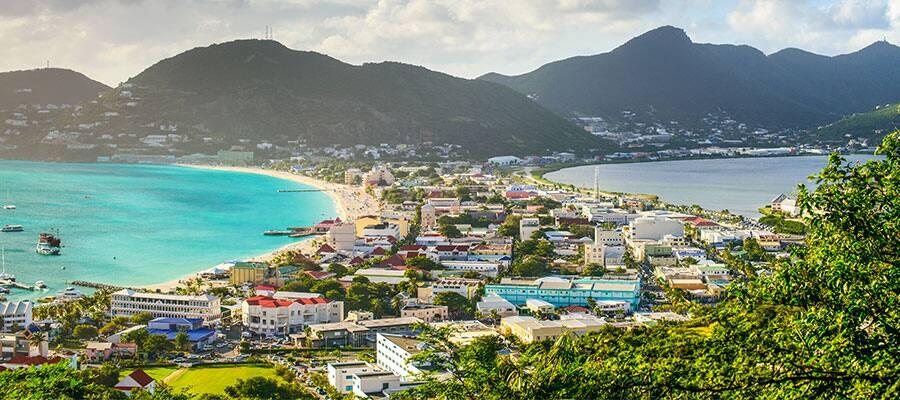 カリブ海クルーズで訪れるセントマーチン島