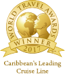 Caribbean's Leading Cruise Line賞(2013年〜2017年)