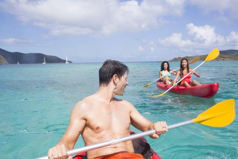 Norwegian Cruise Line Kayaking Shore Excursion
