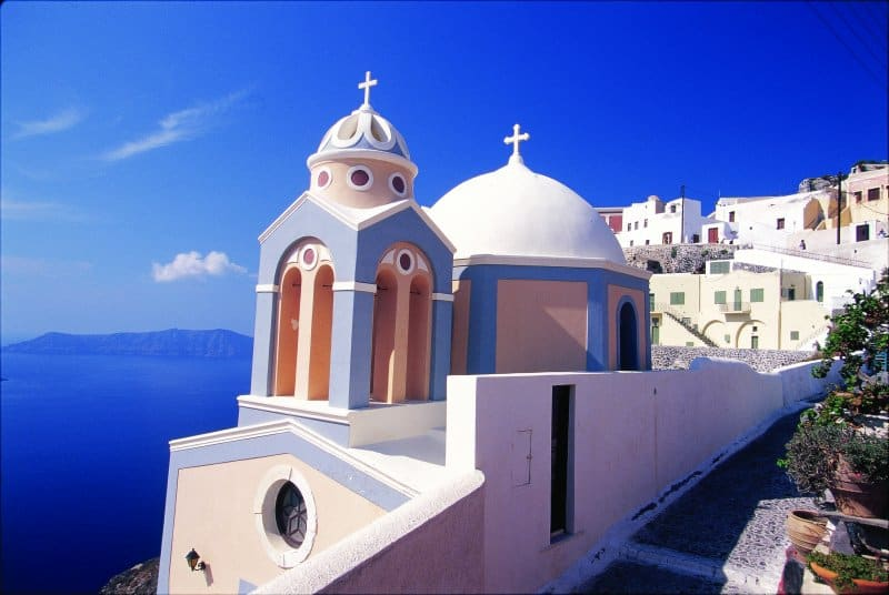 Cruise to Santorini