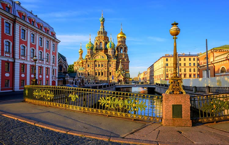 Cruise to St. Petersburg