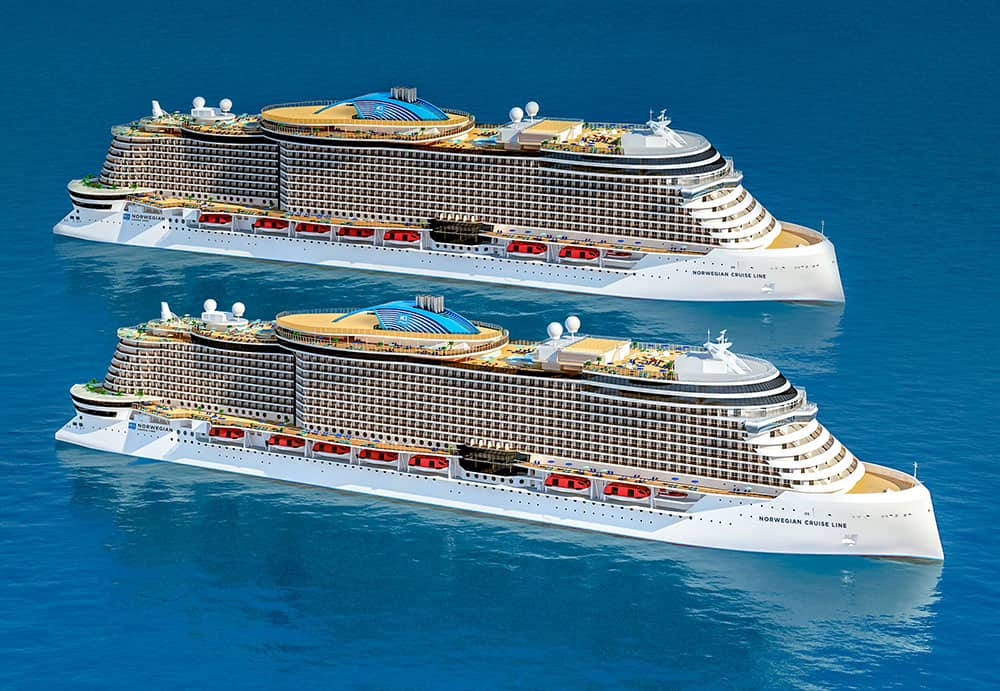 Norwegian Cruise Line Holdings Confirms Orders for Fifth and Sixth Ships in Nex