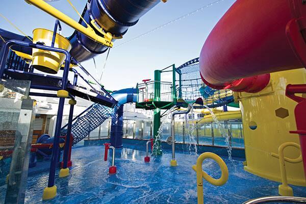 So much fun in the Kid's Aqua Park