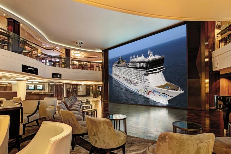 Norwegian Epic Wii Wall