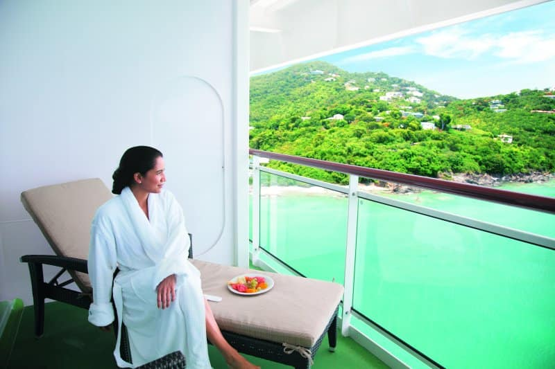 Norwegian Cruise Line Spa Suite Balcony Stateroom