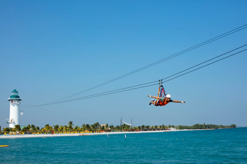 Flighthouse Zipline on Harvest Caye
