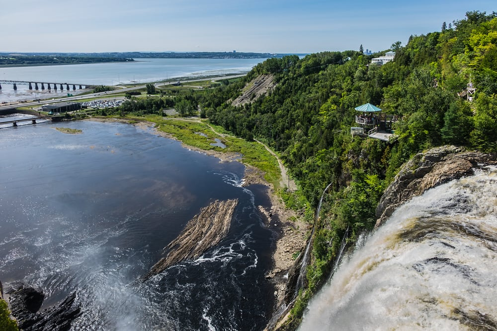 See Montmorency Falls on a Canada Cruise with Norwegian