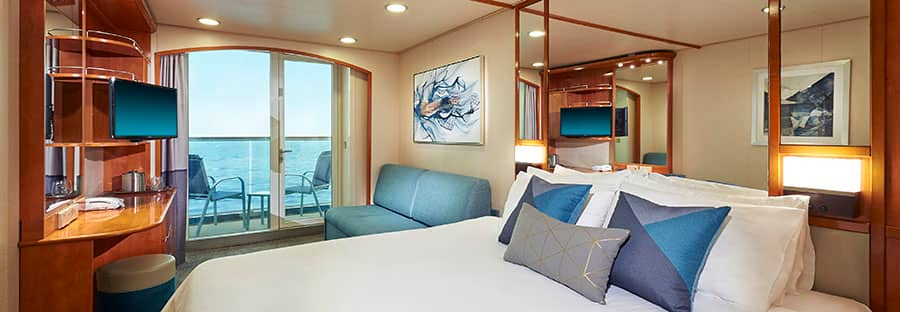 Norwegian Sun Balcony Stateroom - Refurbished in 2018