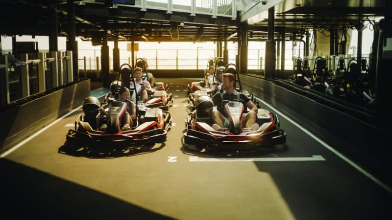 Norwegian Bliss Go Karts