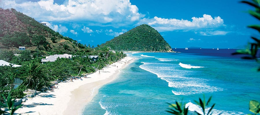 Visit Tortola beaches on your Caribbean cruise